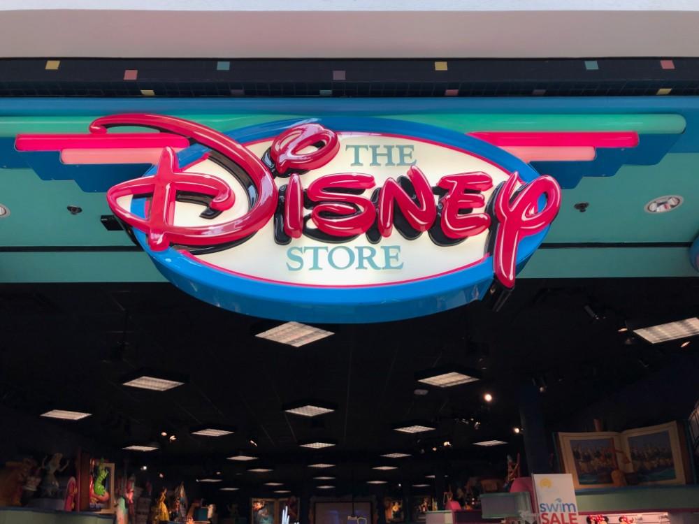 Retro Disney Store in FairfieldSign