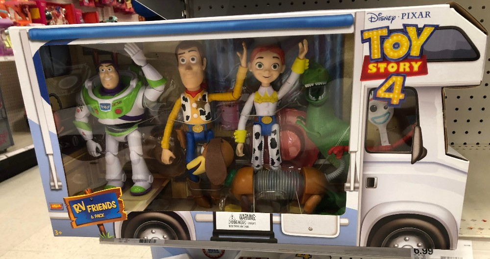 pixar rv friends pack of figures