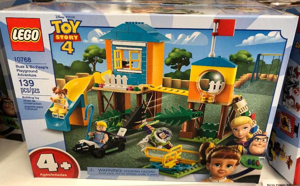 toy story 4 legos buzz and bo peep playground adventure