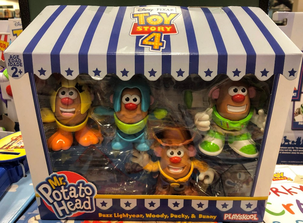 mr potato head 4 pack of toy story figures