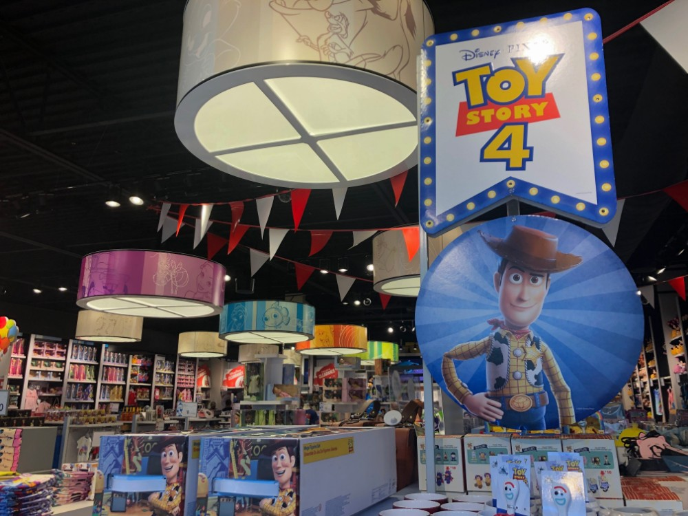 new toy story 4 merchandise