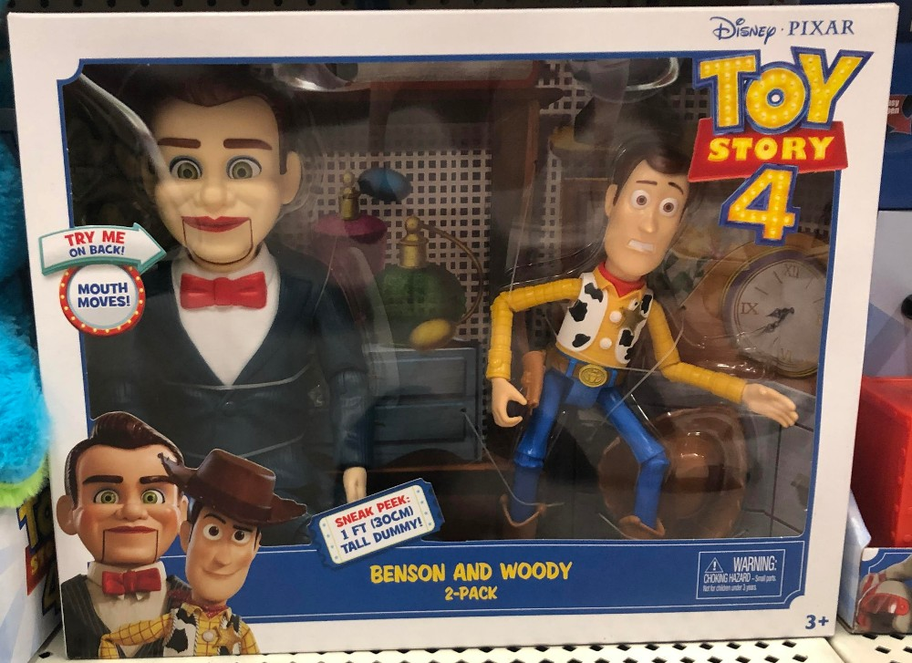 toy story 4 benson and woody 2 pack of figures