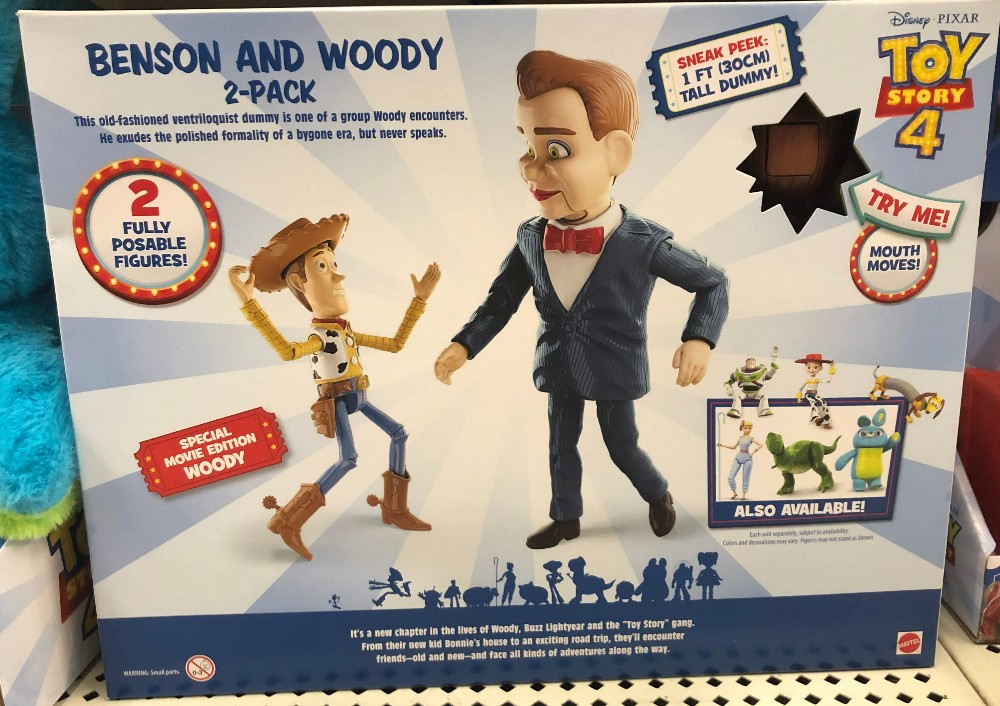 benson and woody figure two pack