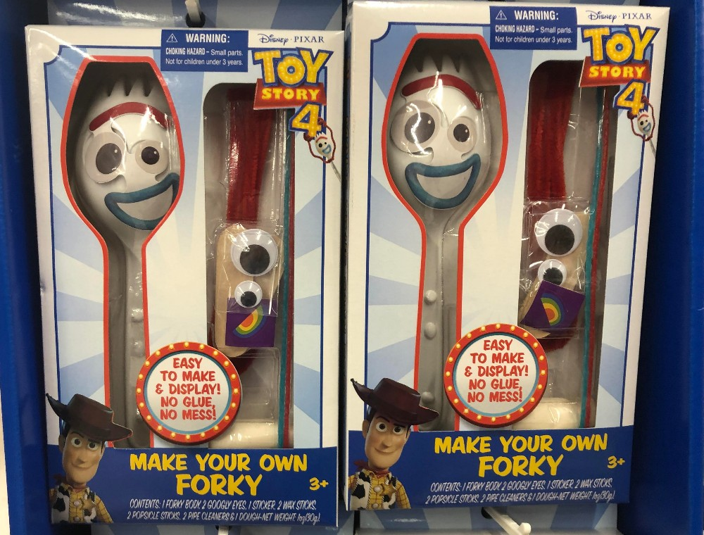 make own forky toy
