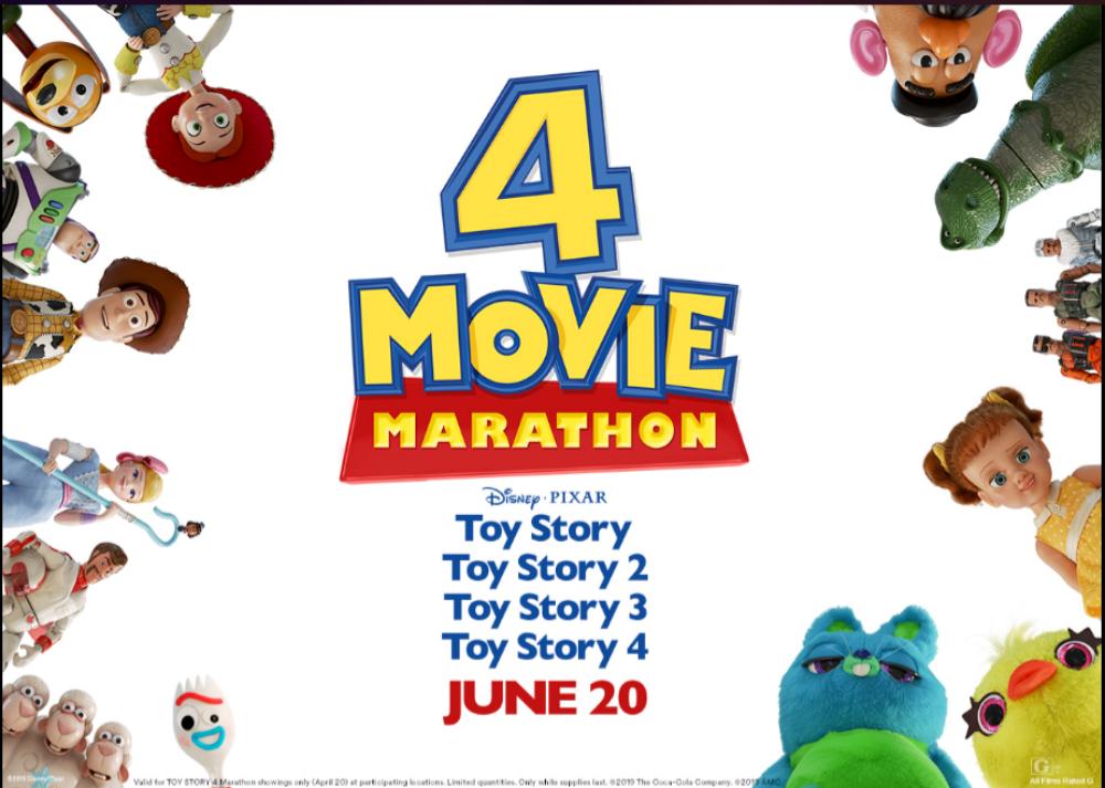 toy story movie marathon