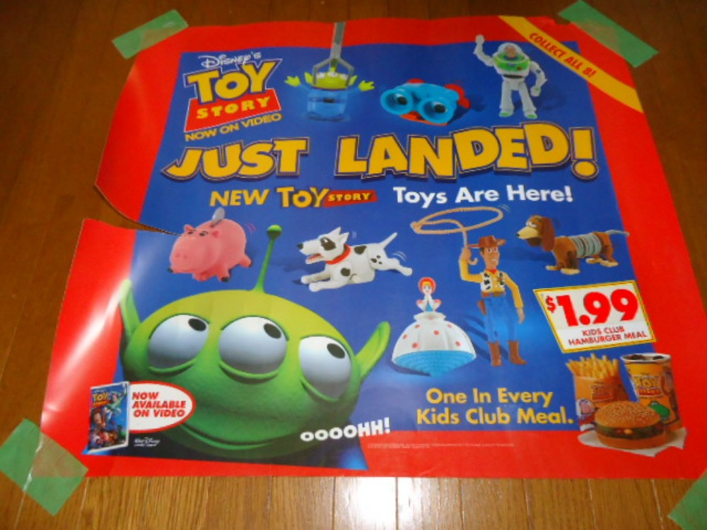 1996 toy story toys