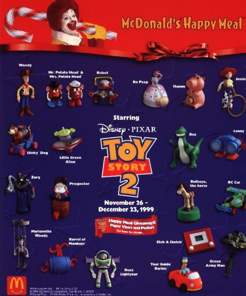 toy story 2 happy meal toy