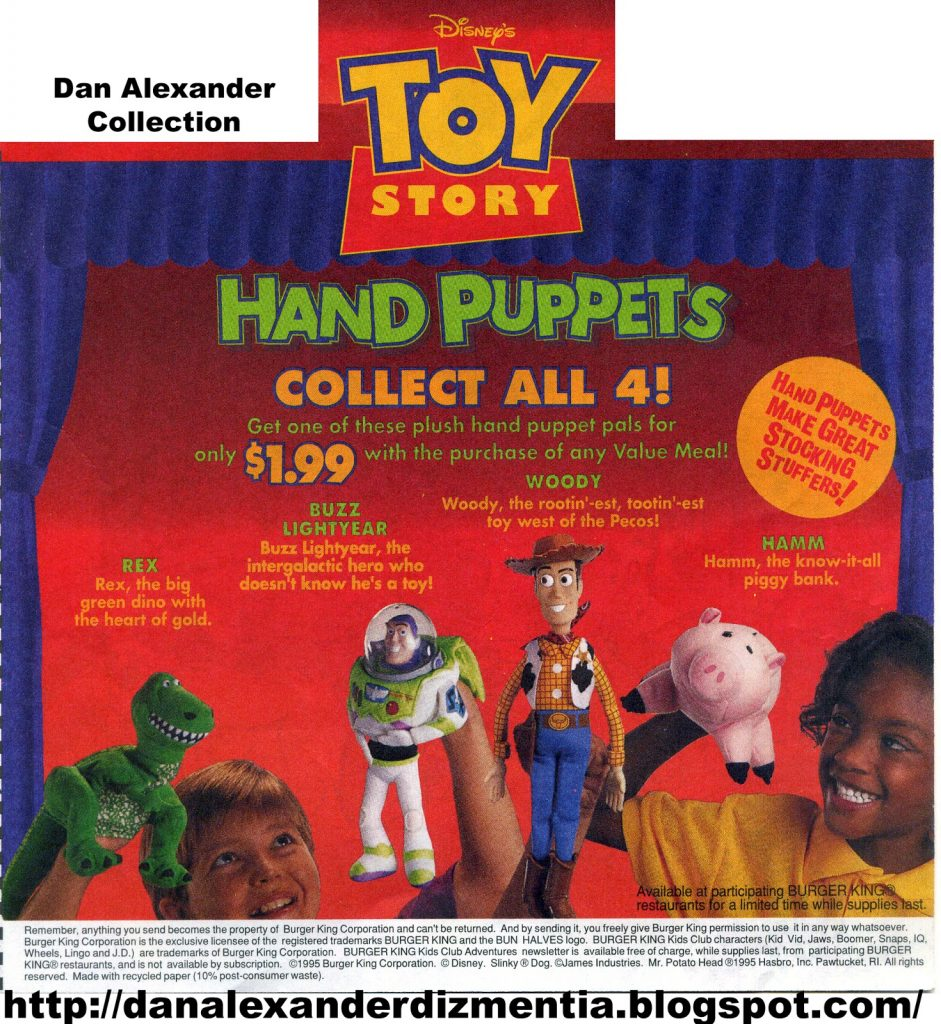 poster for toy story puppets