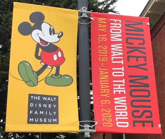 walt disney family museum banners