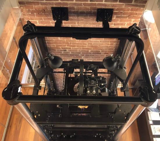 multi pane camera at disney museum