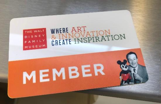 walt disney family museum membership