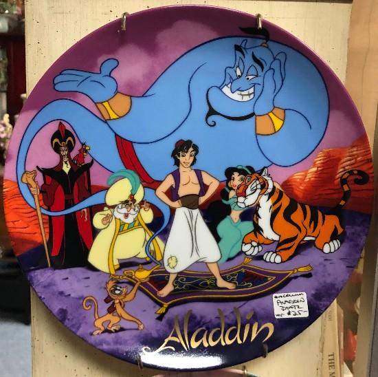aladdin plate