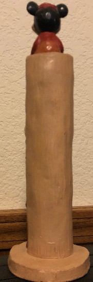 disney antique totem pole back