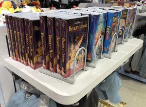 image of disney vhs journals at the disney store
