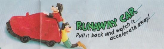 goofy movie runaway car toy