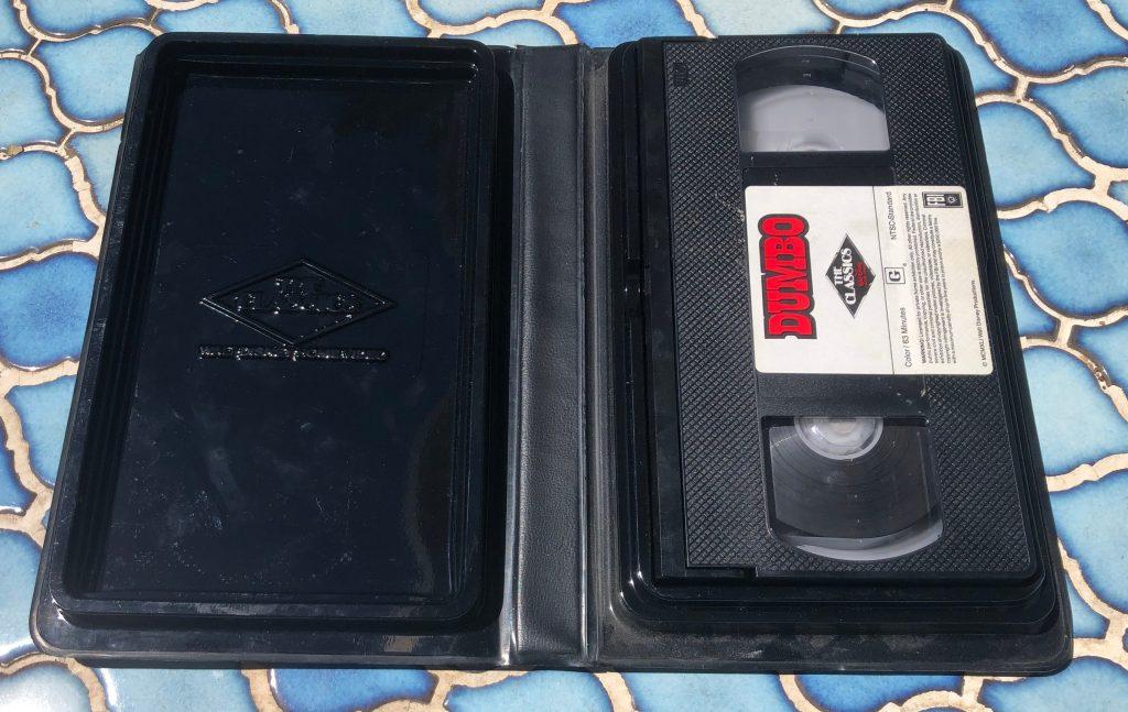 open dumbo vhs tape